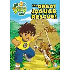 Go, Diego, Go - The Great Jaguar Rescue (DVD, 2007)Disc Only  11-17
