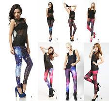 Sexy Galaxy leggings * nuevo * treggings * legings * talla 34-38