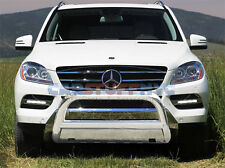 98-05 Mercedes ML-Class Stainless Steel Bull Bar Front Protection Grille Guard