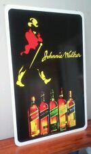 "Johnnie Walker Whisky Lover's Aluminum Sign  12"" x 18"""