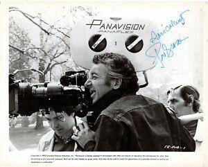 FRENCH FILM DIRECTOR PHILIPPE DE BROCA ,RARE SIGNED VINTAGE PHOTO.