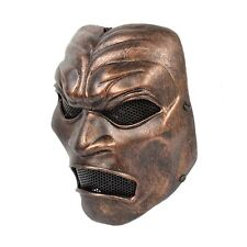 NEW Golden Paintball Airsoft Full Protection Sparta 300 Warrior Halloween Mask