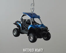 Polaris Rzr 900 Atv 4x4 Custom Christmas Ornament 1/32 Gator Honda Suzuki Rhino