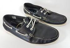 Nushu navy Leather boat shoes uk 7 eu 41