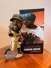 Sergio Romo Bobble Head Rare San Francisco Giants Baseball Souvenir