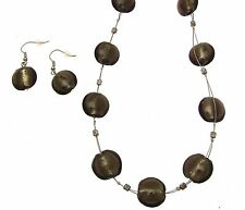 Necklace and Earring Set Jewellery Sets Glass Jewelry Glass Bead Necklace INV016