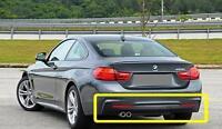 BMW GENUINE 4 F32 F33 F36 13-17 M SPORT REAR DIFFUSER WITH DOUBLE MUFFLER HOLE
