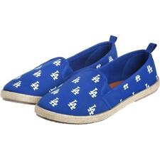 2a435bc7da MLB Los Angeles Dodgers Logo Women s Canvas Espadrille Slip On Flat Shoes