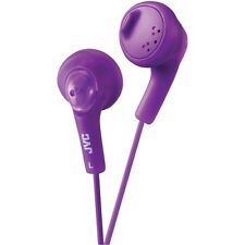JVC HAF160 Gumy Earbuds/Earphones with Bass Boost for tablets/mp3/Laptop