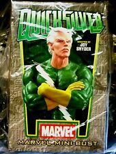 Quicksilver Green Bust Statue Bowen Factory Sealed Marvel Comics .