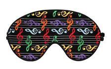 Travel Eye Sleep/Sleeping Mask MUSIC hand crafted by Graggie Australia*GA