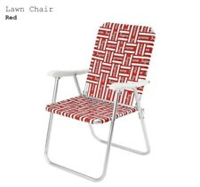 Supreme Lawn Chair - *BRAND NEW - IN HAND & BOXED*