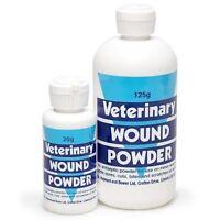 Battles Veterinary Wound Powder - Antibacterial powder Choose 20g or 125g horses