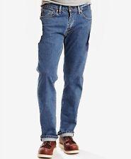 $134 Levi'S 505 Jeans Men'S 38w 30l Blue Stonewash Jeans Regular Fit Denim Pants