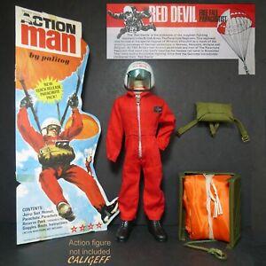 Vintage Action man multi annonce réservoir moto voiture vélo armée avion bateau Cherilea 1970