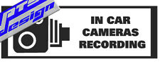 Dashcam/CCTV/Coche Cámara/STICKER/DECAL
