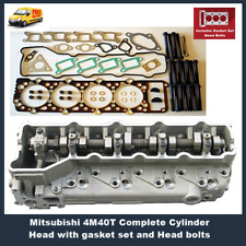 Cylinder Head Complete Mitsubishi Pajero Triton 4M40T with Gaskets & Head Bolts