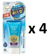 ( Pack of 4 ) Biore UV Aqua Rich Watery Essence Sunscreen ~ 7-14 Days Arrive !!