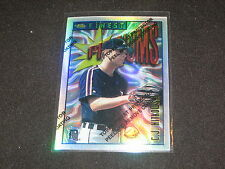 CJ NITKOWSKI TIGERS 1996 TOPPS FINEST GENUINE AUTHENTIC BASEBALL CARD REFRACTOR
