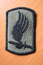 ORIGINAL US MADE 173RD REGIMENTAL COMBAT TEAM VIETNAM CLOTH SUBDUED PATCH BADGE
