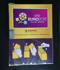 PANINI - EM UEFA EURO 2012 - SEALED BOX/BOITE NEUVE 100 PACKETS INTERNATIONAL ED