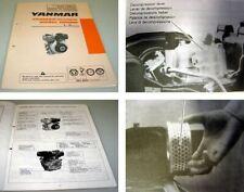 Yanmar L -  A Serie L40 bis L100 Diesel Motor Bedienungsanleitung