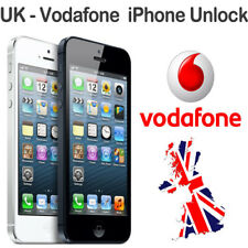 UNLOCK VODAFONE UK  iphone 3G/3GS/4G/4S/5/5S/5C/6 - CLEAN IMEI -