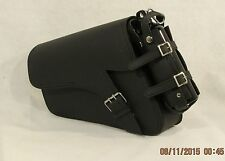 GENUINE LEATHER Motorcycle Solo BAG SADDLEBAG For Harley Davidson Sportster