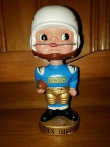 San Diego Chargers AFL Earpads Vintage Bobblehead/Nodder/Bobbing Head/ Mint 1965