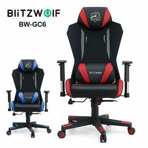 BlitzWolf BW-GC6 Reclining Ergonomic Computer Racing Gaming Seat Chair + Pillow