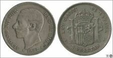 España Alfonso XII 00133a BC+ / F+ 5 ptas. 1882 (*81) MSM / OCASION