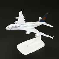 16cm Aircraft Plane Airbus380 Airlines A-380 Lufthansa Airlines Diecast Model