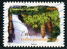 TIMBRE FRANCE AUTOADHESIF OBLITERE N° 310 / FLORE DU SUD / L'EPICEA