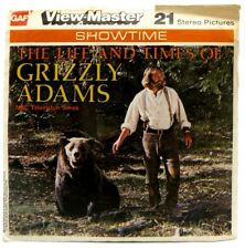 View-Master J10, Grizzly Adams TV Show, Showtime, 3 Reel Set