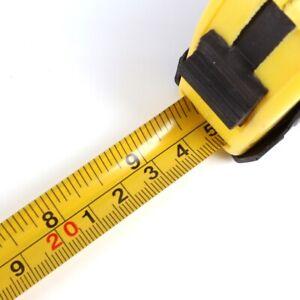 4x HEAVY DUTY 5M TAPE MEASURES Retractable Lock Measure Reel Metric Imperial