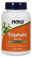 Triphala, 500mg 120tb Nowfoods
