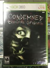 Condemned: Criminal Origins (Microsoft Xbox 360) Original Factory Sealed