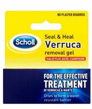 New Scholl Seal and Heal Verruca and Wart Removal Gel (Scho005) Free Delivery