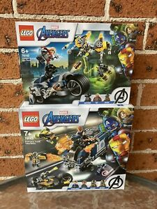 Brand New LEGO Marvel Superheroes 76142 & 76143@ Bundle Sale