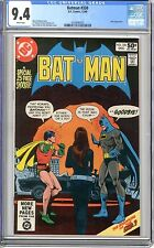 Batman #330  CGC  9.4 NM  white pages