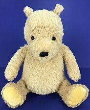 "Gund Disney Classic Winnie Pooh Bear 8"" Plush Stuffed Animal #8044 Velvet Feet"