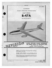 BOEING B-47 STRATOJET COLD WAR Bomber Pilot FLIGHT MANUAL