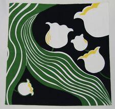 Furoshiki Suzuran Black/Green 68cm x 70cm