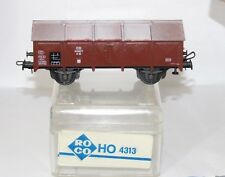 ROCO 4313 DB COVERED WAGON + HINDGED LIDS Klappdeckelwagen VGBC HO GAUGE