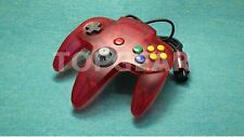 Official Original N64 Controller Pad Clear Red Nintendo64 by TOPGEAR.jp