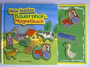 Mein buntes Bauernhof-Magnetbuch, m. 16 Magnetfiguren von Norbert Pautner...
