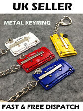 Honda Civic CRX Integra Type R VTI Engine Metal Keyring Rocker Cover BLUE