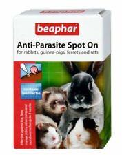 More details for beaphar anti-parasite spot on rabbit guinea pigs ferrets rats fleas lice wormer