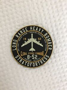 Sujak Military Items B-52 Stratofortress Boeing Bomber Hat or Lapel Pin HON16131