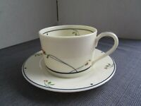 GORHAM Ariana Town and Country Fine China Collection Cup/Saucer Set